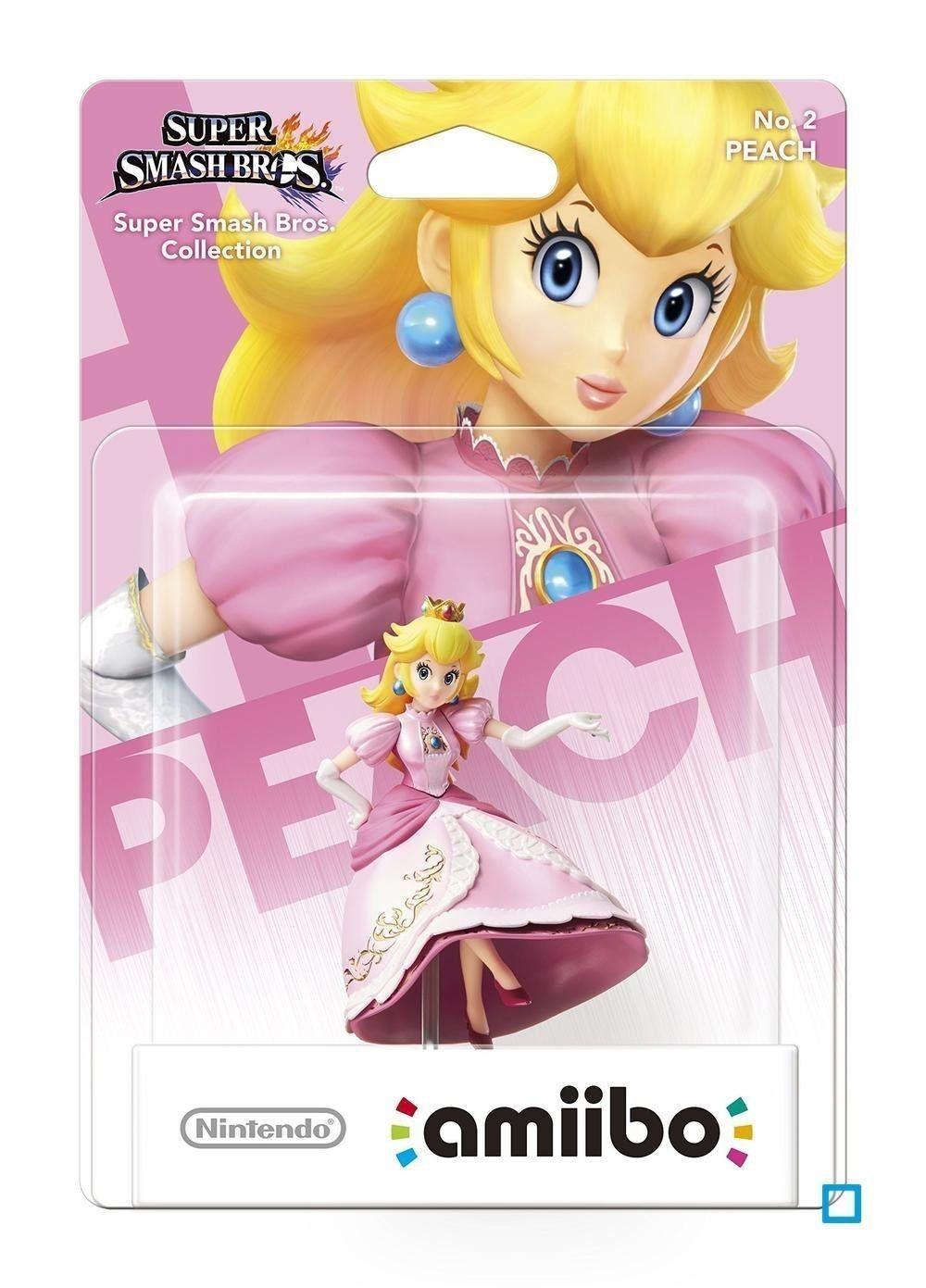 Nintendo Amiibo фигура Peach No.2 [Super Smash] - 3